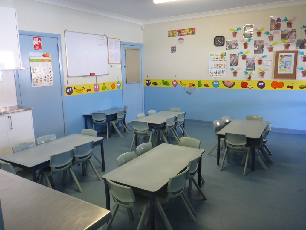 The Berry Patch day care centre classroom