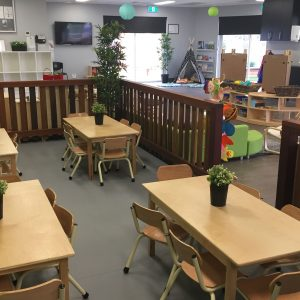 The Berry Patch preschool centre classroom